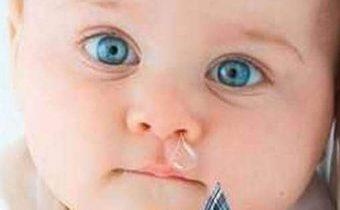 Лечение соплей у ребенка
