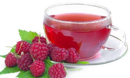 Чай из малины против ОРВИ