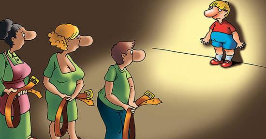Наказание ребенка в семье