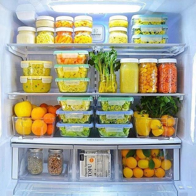 Хранение готовых продуктов в индивидуальной таре.