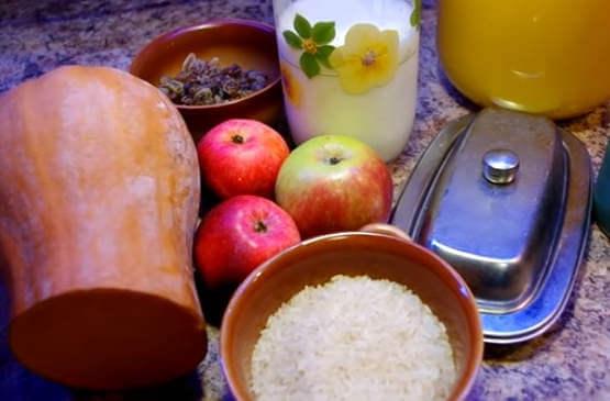 Рисовая каша с тыквой на воде - пошаговый рецепт с фото на Повар.ру