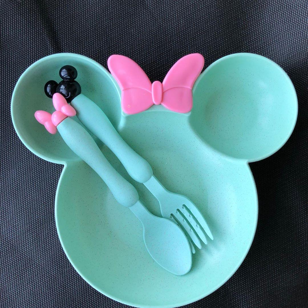 Оригинальная тарелочка для ребенка