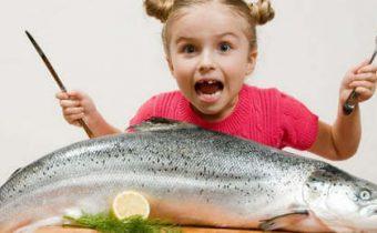 Польза омега-3для детского организма
