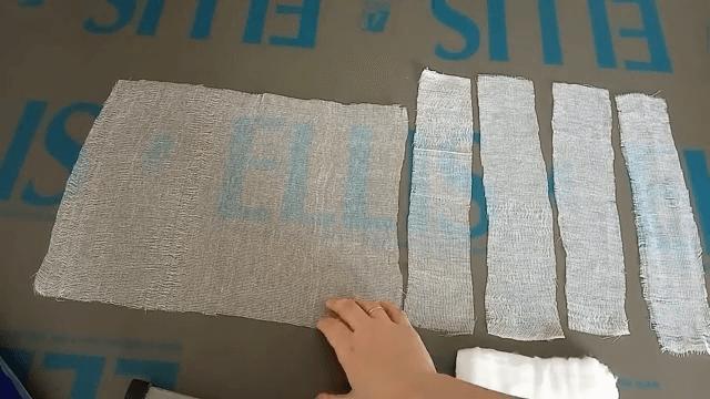как пошить ватно-марлевую повязку